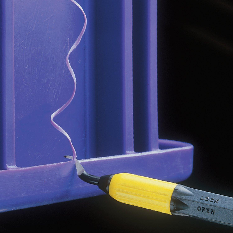 General Tools 482 Swivel Head Deburring Tool with Metal Handle