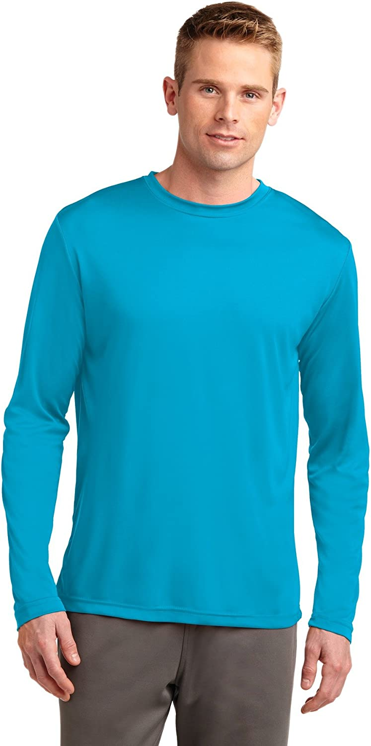 Sport Tek Men S Long Sleeve Posicharge Competitor Tee Amazon Com This collection includes shirts, pants, winter wear and accessories to meet your clothing needs. sport tek men s long sleeve posicharge competitor tee