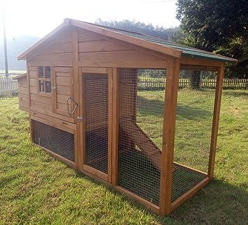 Gallinero no. 08, «Schickchick» con caja de huevos y espacio al aire libre: Amazon.es: Productos para mascotas