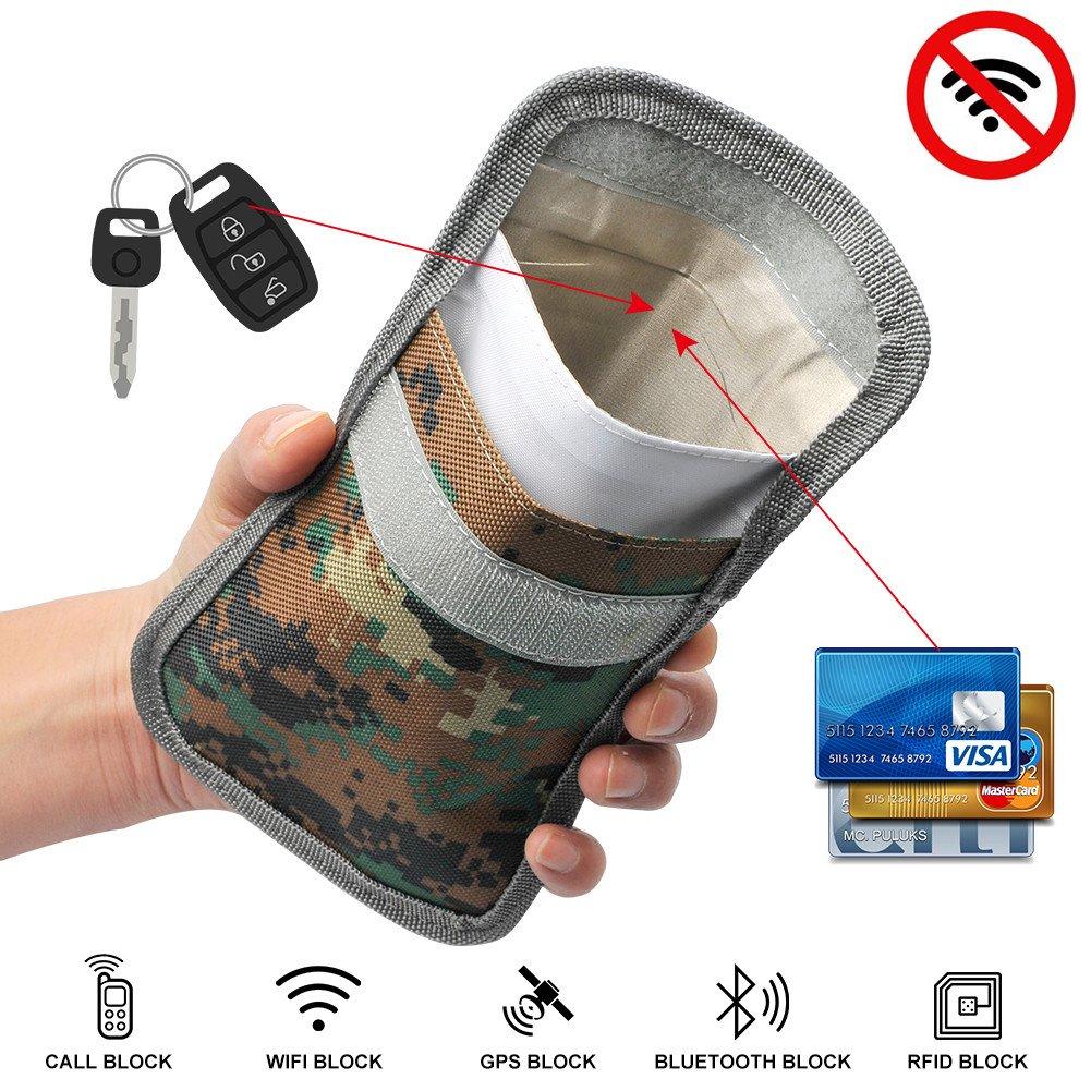 Schl/üssel-Schutztasche FuYuan Autoschl/üssel-Signalblocker RFID-Blocker