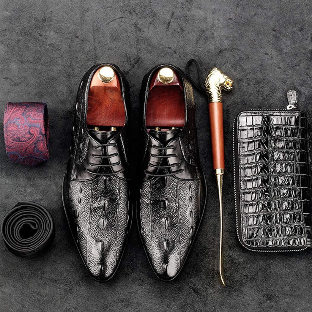 Herren Lederschuhe Handgemachte Handgemachte Handgemachte Kleid England Wies Business Schuhe Mode Einzelne Schuhe Flache Bequeme Hochzeit Schuhe Büroarbeit Abendgesellschaft Freizeitschuhe schwarz f23fbe