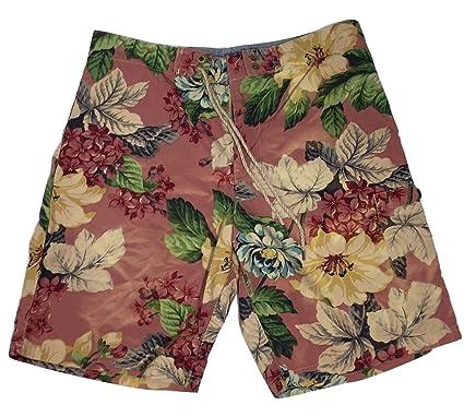 Polo Ralph Lauren Men\u0027s Swim Trunks Shorts Green Floral ...