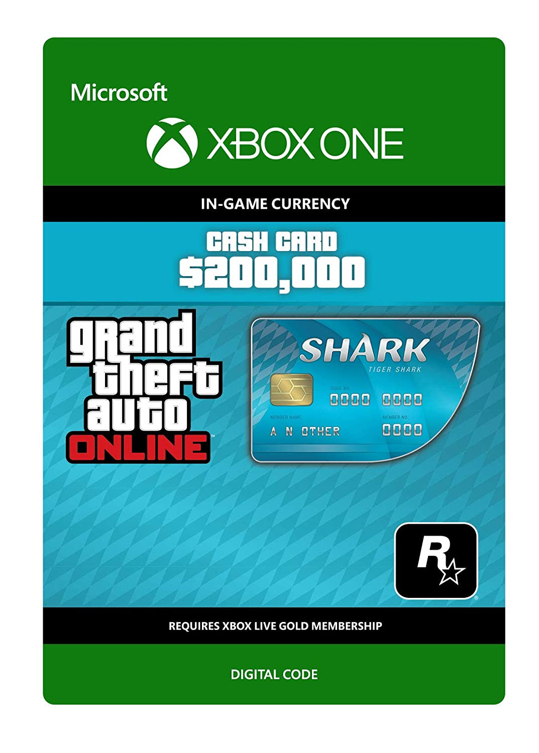 Grand Theft Auto Online - GTA V Cash Card | 500,000 GTA-Dollars ...