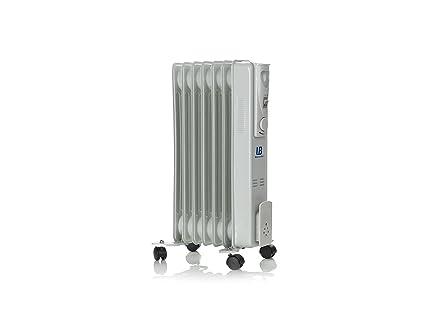 Universal Blue URA1500-16 Radiador de Aceite, 1500 W, Gris