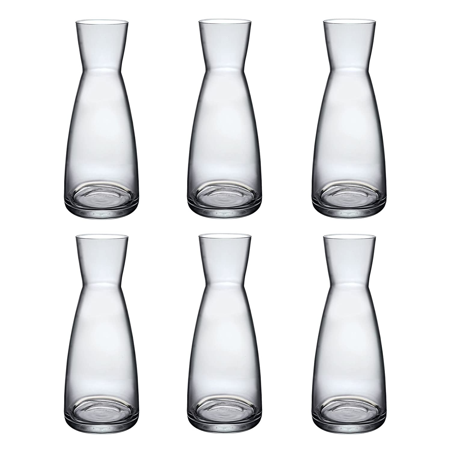 Bormioli Rocco Ypsilon Water Jug Carafe Decanter 285ml - Pack of 6