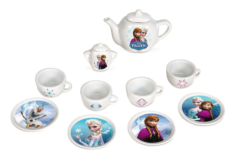 smoby 024804 jeu dimitation cuisine dinette porcelaine la reine des neiges amazonfr jeux et jouets