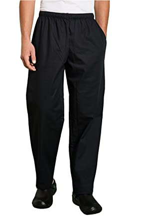 0c653622437e9a Simon Jersey Unisex Chef's Trousers Kitchen Uniform: Amazon.co.uk ...
