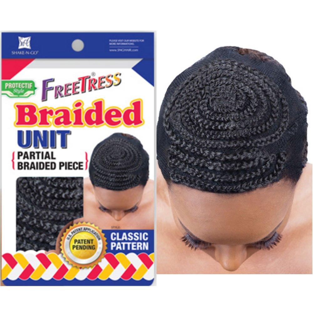 Amazon Freetress Braided Unit Partial Braided Piece Classic