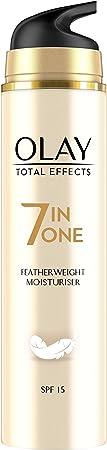 Olay Total Effects 7en1 Hidratante Anti-Edad Ligera De Día SPF 15, Combate Los 7 Signos De La Edad - 50 ml
