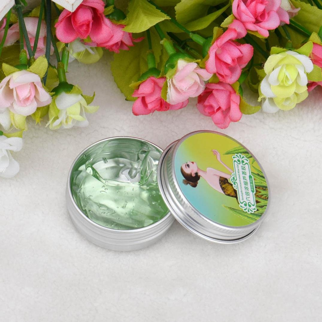 Jinjin AFY Natural Six Times Concentrated Aloe Vera Gel Whitening Facial Skin Care 30g (Green) by Jinjin (Image #1)