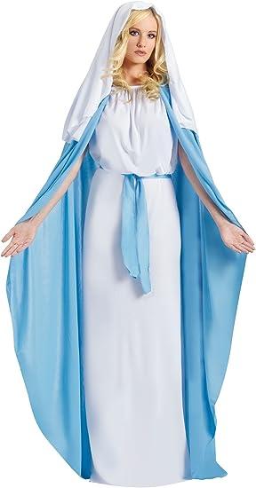 Fun World - Disfraz de virgen María para mujer, talla única ...