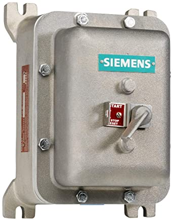 240V at 60Hz Coil Voltage Siemens 11MD3BG Manual Starter and Enclosure 1.4-2 FLA Adjustment Range NEMA 1 General Purpose Enclosure