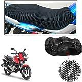 Vheelocityin No Heat Net Seat Cover Motorcycle / Bike/ Scooty Seat Cover For Bajaj Pulsar 150