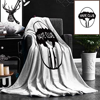 Amazon com: Nalagoo Unique Custom Flannel Blankets Vape Club