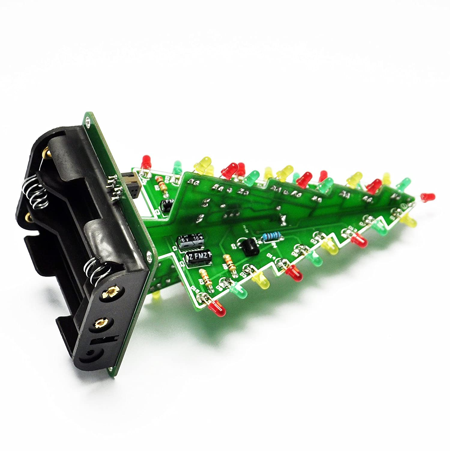 Gikfun 3d Christmas Trees Led Diy Kit Flash Circuit Flashers Circuits And Projects 24 Ek1719 Computers Accessories