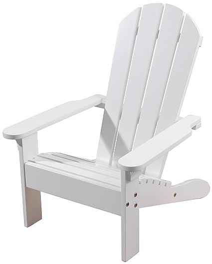 Superbe KidKraft Adirondack Chair   White