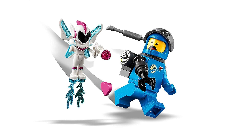 LEGO La LEGO Película 2 - Trimoto Metálica de Barbagris, imaginativo juguete de construcción con vehículo y minifiguras de Dulce Caos y Benny (70834): ...