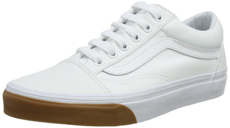 Vans Old Skool, Zapatillas de Entrenamiento Unisex Adulto 42 EU Blanco (Gum Bumper)