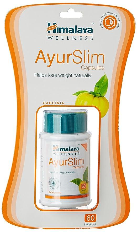Raj Medicos Himalaya Wellness Ayurslim For Weight Management White 60 Capsules