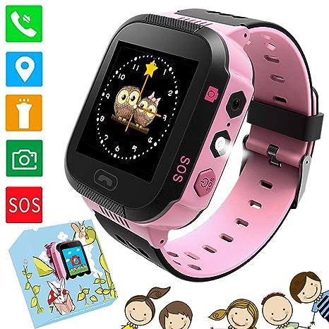 "Kids Smartwatch Phone - 1.4""Reloj de Pantalla táctil para niños Reloj de Pulsera con"