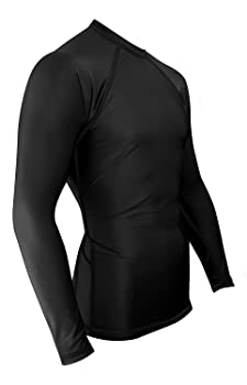 Legend Men Long Sleeve Swim Shirt Rash Guard