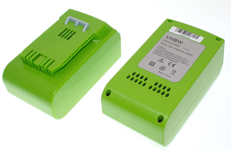 Vhbw li ion akku mah v für elektro werkzeug greenworks