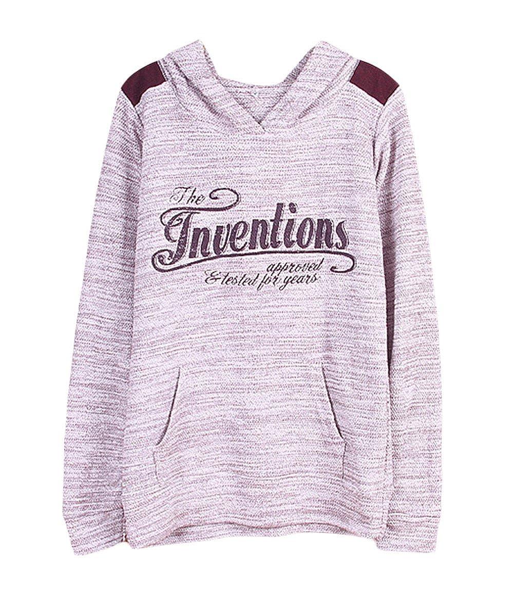 Women's Print Long Sleeve Hooded Pullover Hoodies rl_5463a@us3