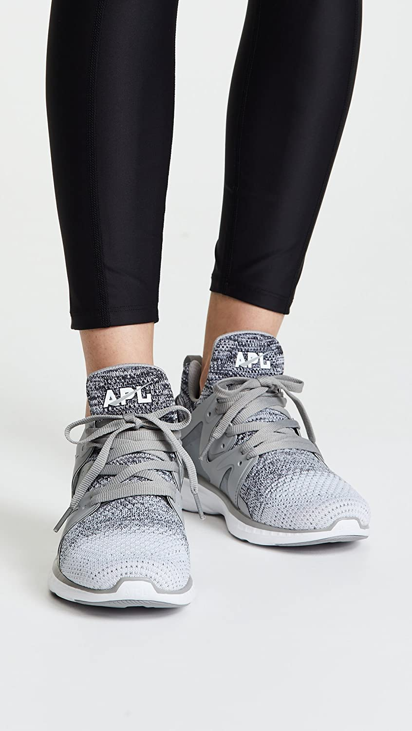 APL: Athletic Propulsion Labs Women's Ascend Sneakers B07C9GK961 10 B(M) US|Heather Grey/White Ombre