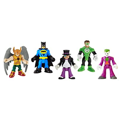 Fisher-Price Imaginext DC Super Friends, Heroes & Villains Pack: Toys & Games