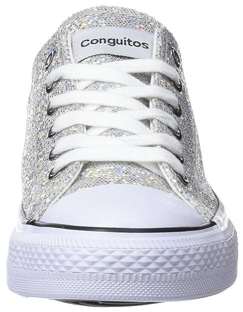 Amazon.com | Conguitos Baby Girls IV128330 (Toddler/Little Kid/Big Kid) Silver 30 M EU | Shoes