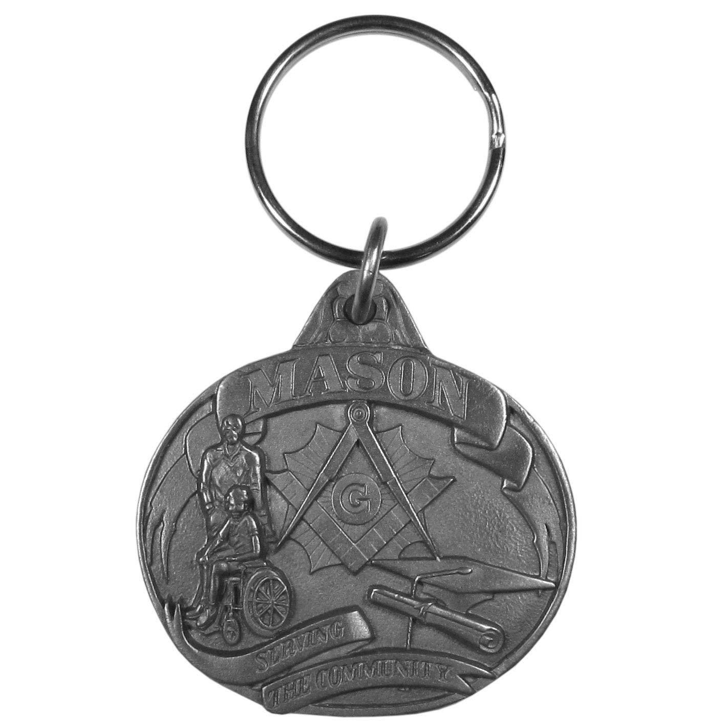 Siskiyou Mason Antiqued Key Chain Siskiyou Buckle Co Inc KR151