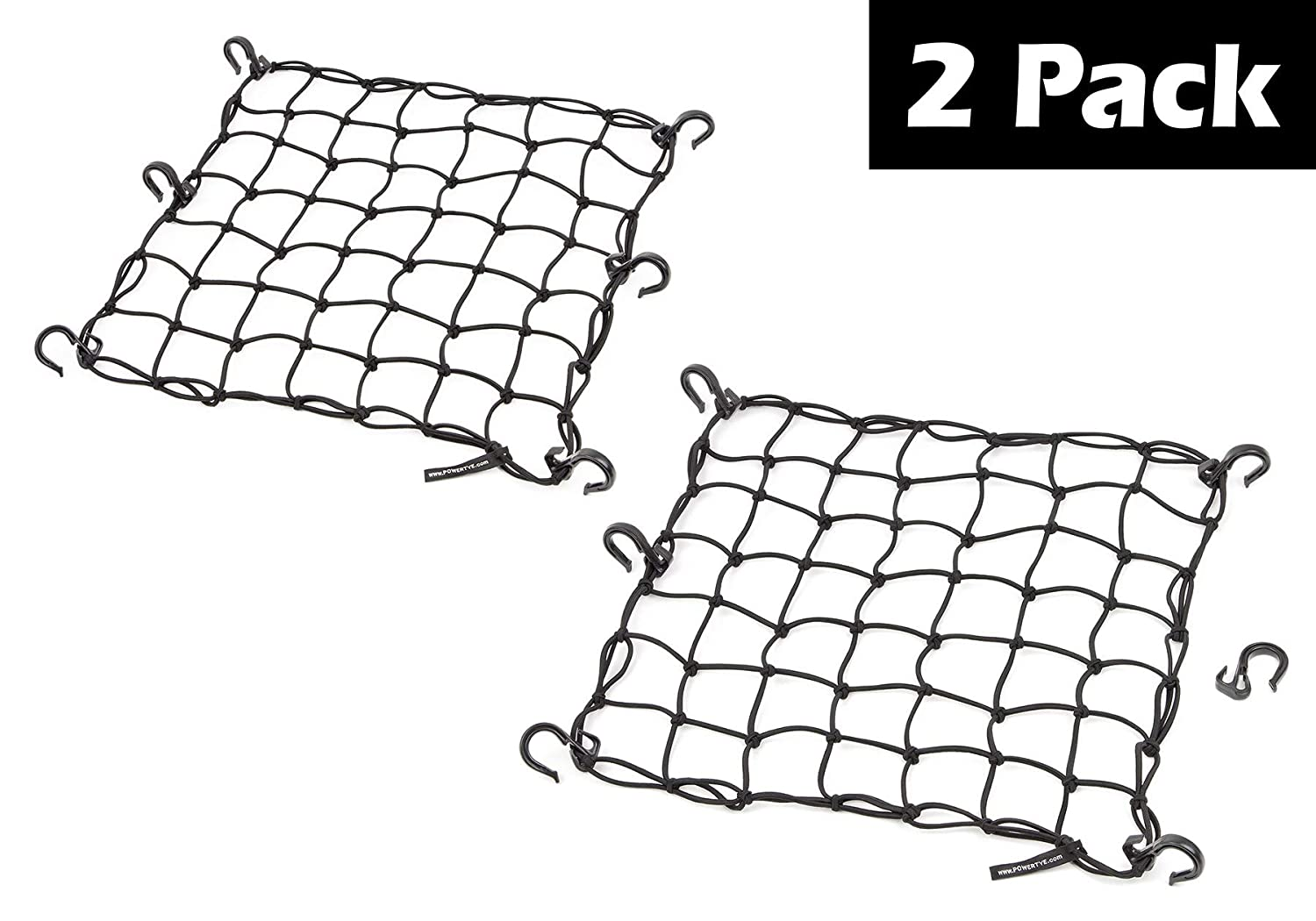 PowerTye Black Mesh Cargo Net