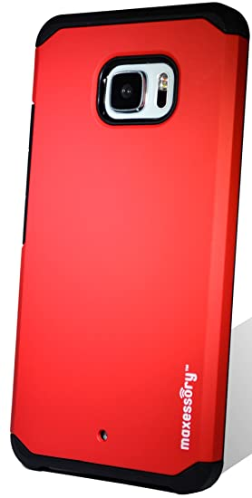 low priced e7c55 67abd Amazon.com: HTC U Ultra Case, Maxessory Red Globetrotter Heavy-Duty ...