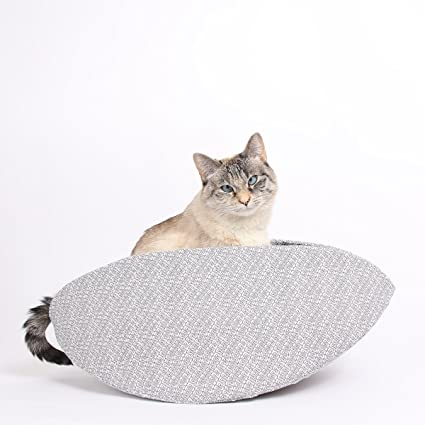 Cat bed for big cats or two cats with high sides - jumbo size Cat Canoe