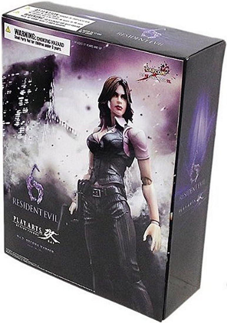 Amazon Com Square Enix Resident Evil 6 Play Arts Kai Helena