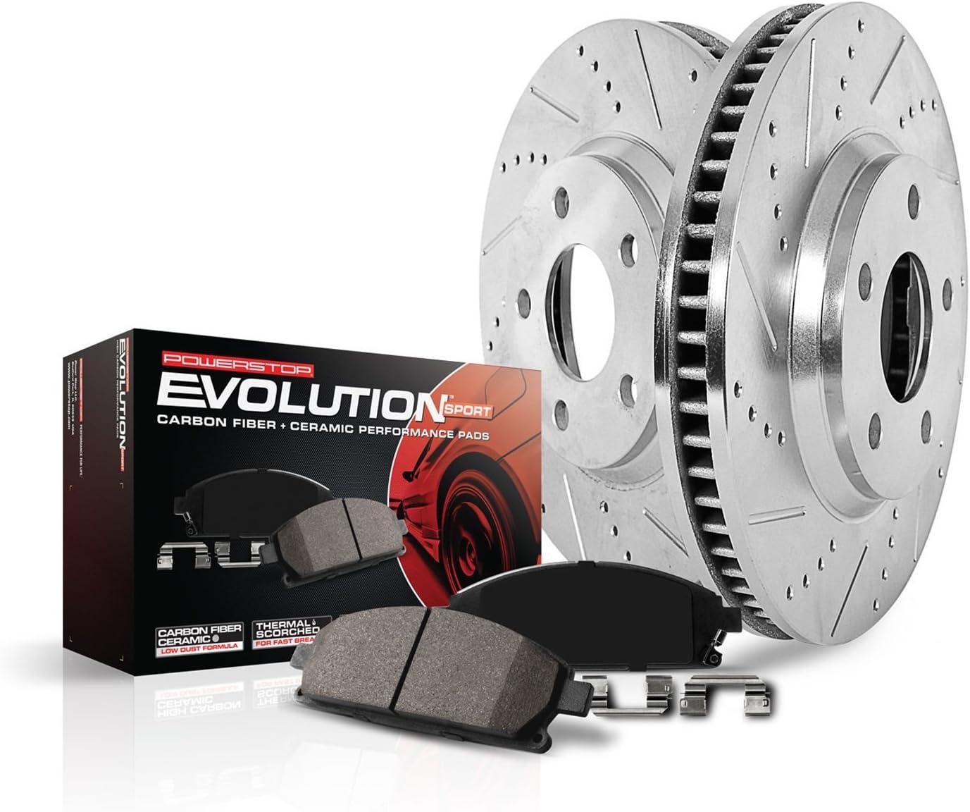 Power Stop Z23 Evolution Brake Kits K2963