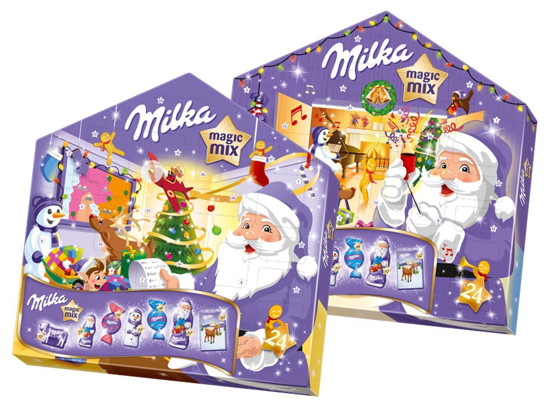 Milka Weihnachtskalender.Milka Magic Mix Advent Calendar 204g
