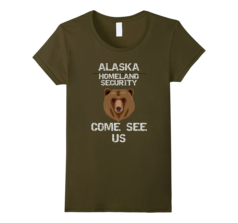 ALASKA HOMELAND SECURITY SHIRT