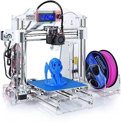 Infitary Reprap Prusa i3 kits de impresora 3D PC de escritorio de ...