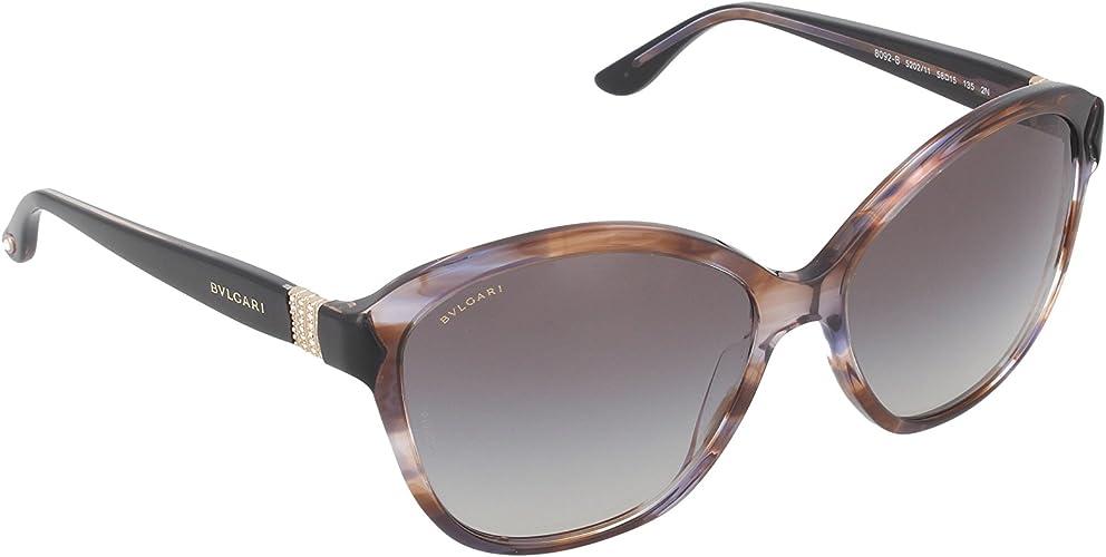 Bulgari Gafas De Sol Mod. 8092B 520211 Marrón/Negro: Amazon.es: Zapatos y complementos