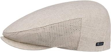 Lipodo Gorra de Lino Mesh Hombre - Made in Italy algodón Gorro ...