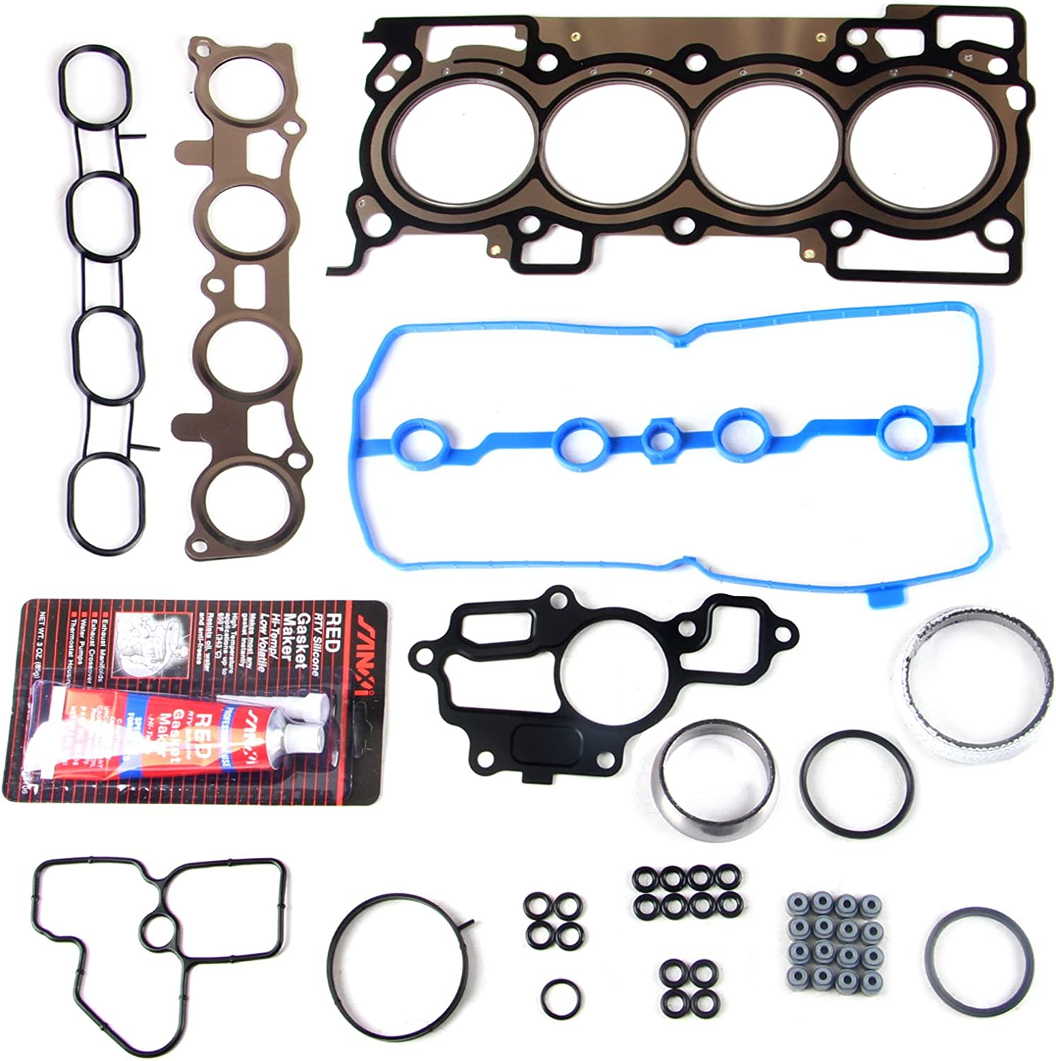 cciyu Head Gasket Kit for Versa Nissan Cube Nissan Sentra 2007-2012 Replacement fit for HS9522PT Head Gaskets Set Kits