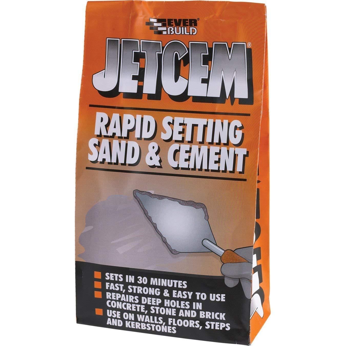 Everbuild JETX2 Jetcem Premix Sand and Cement 2Kg EVBJETX2
