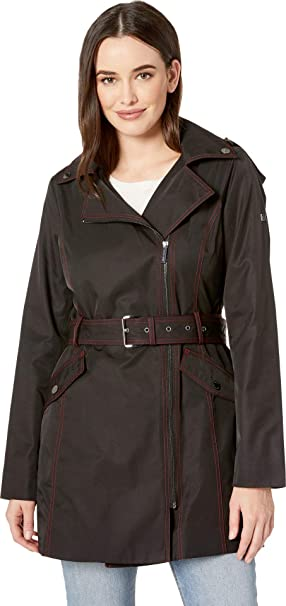 timeless design kid discount sale Michael Michael Kors Women's Asymmetric Belted Trench ...