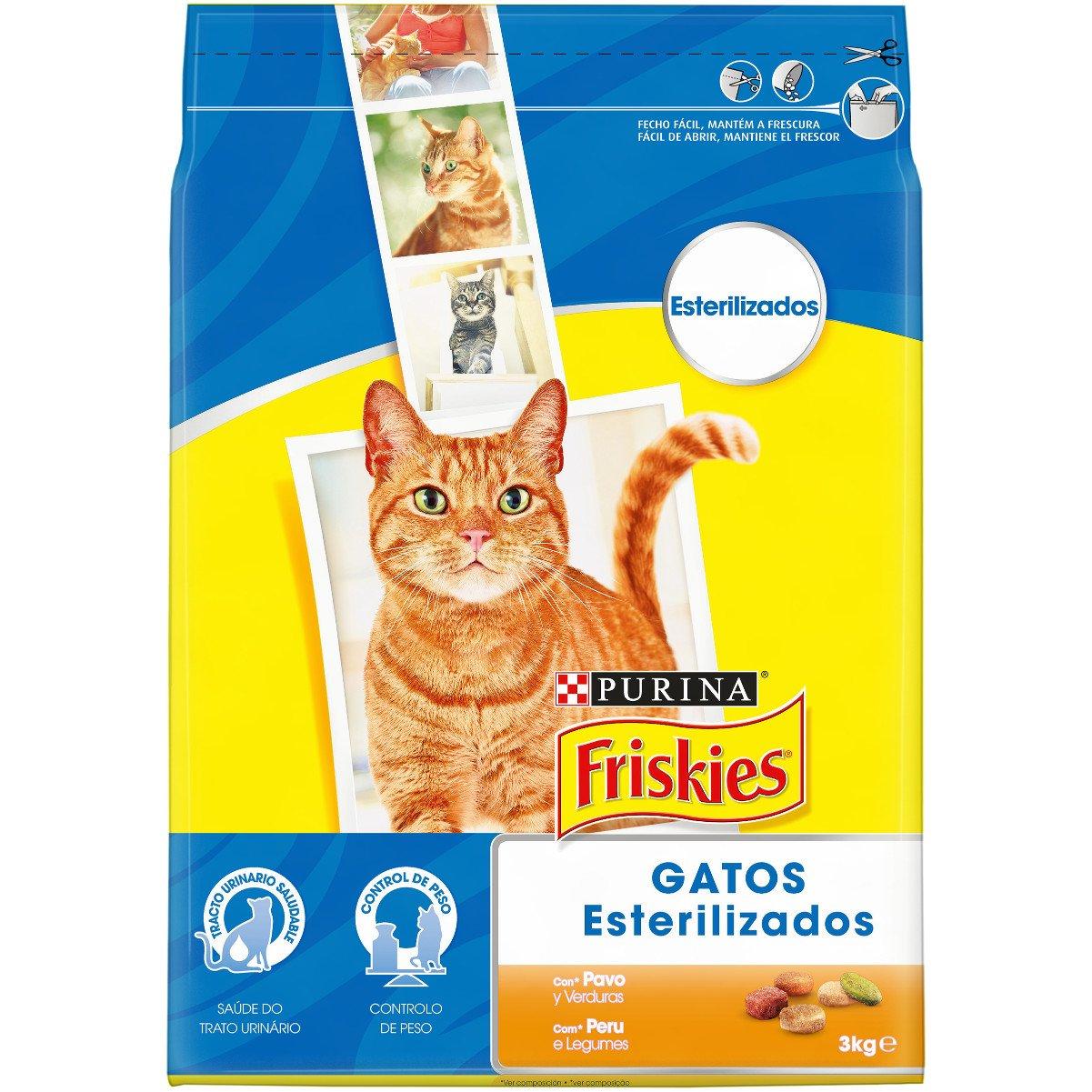 Purina - Friskies - Alimento para Gatos Esterilizados con ...
