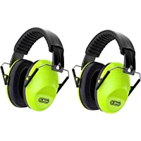 Dr.meter Kids Noise Reduction Earmuffs with 27 NRR Hearing Protection Earmuffs for Shooting Sleeping and Studying, Green…
