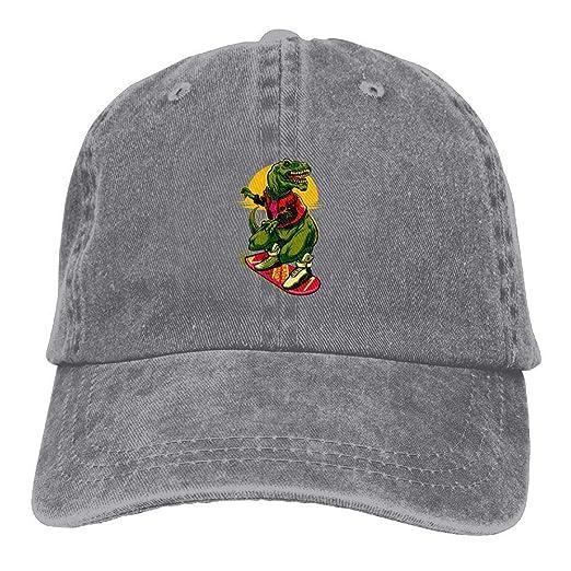 Dinosaur Skateboard Vintage Cowboy Baseball Caps Trucker Hats at Amazon  Men s Clothing store  65a2fccb997