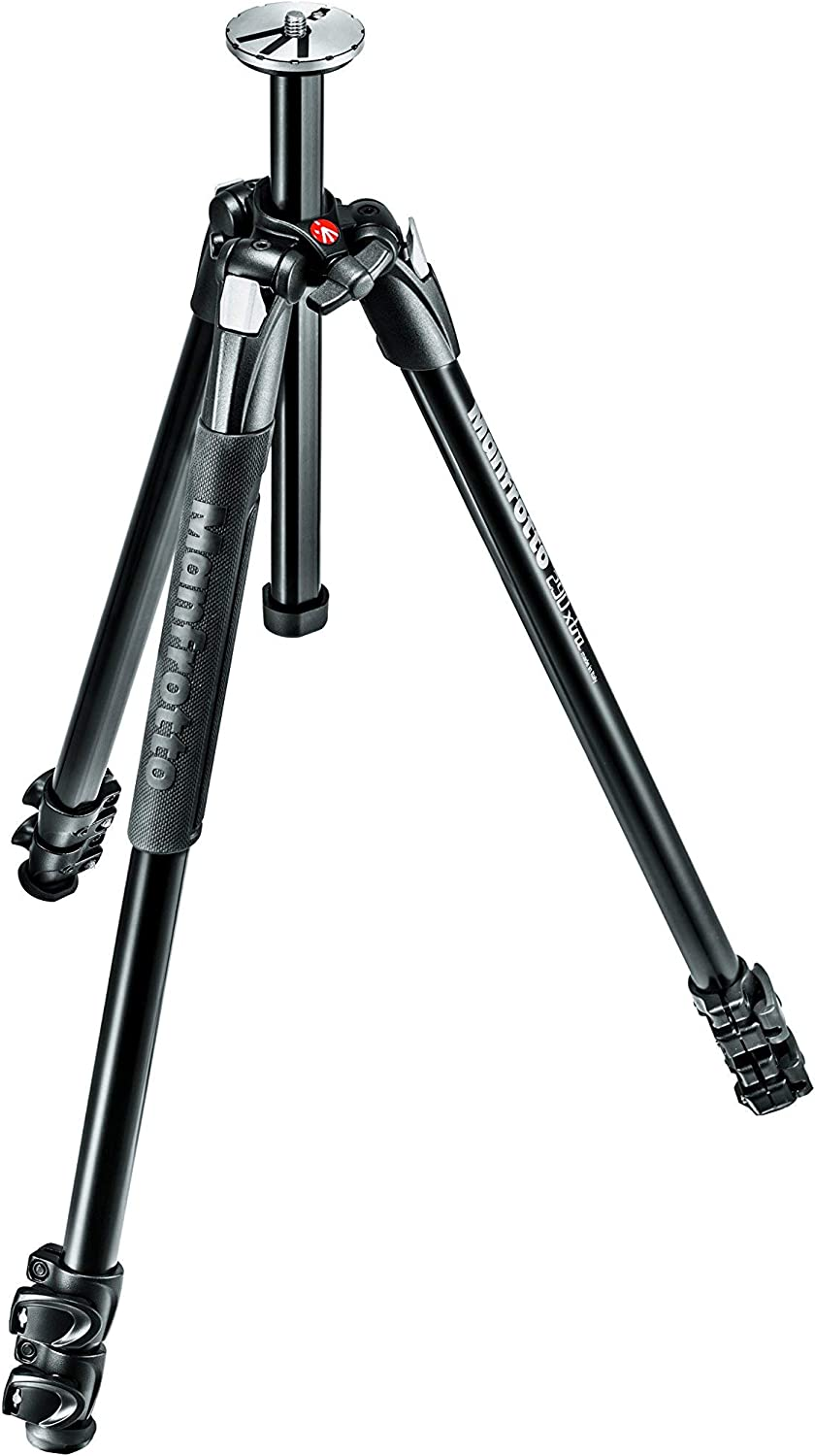 MT290XTA3US Manfrotto 290 Xtra Aluminum 3-Section Tripod Renewed