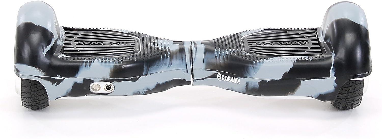 Robway Original Hoverboard Silikon Schutzh/ülle Cover Skin 6,5 // 8 W1 /& W2 - Gummih/ülle