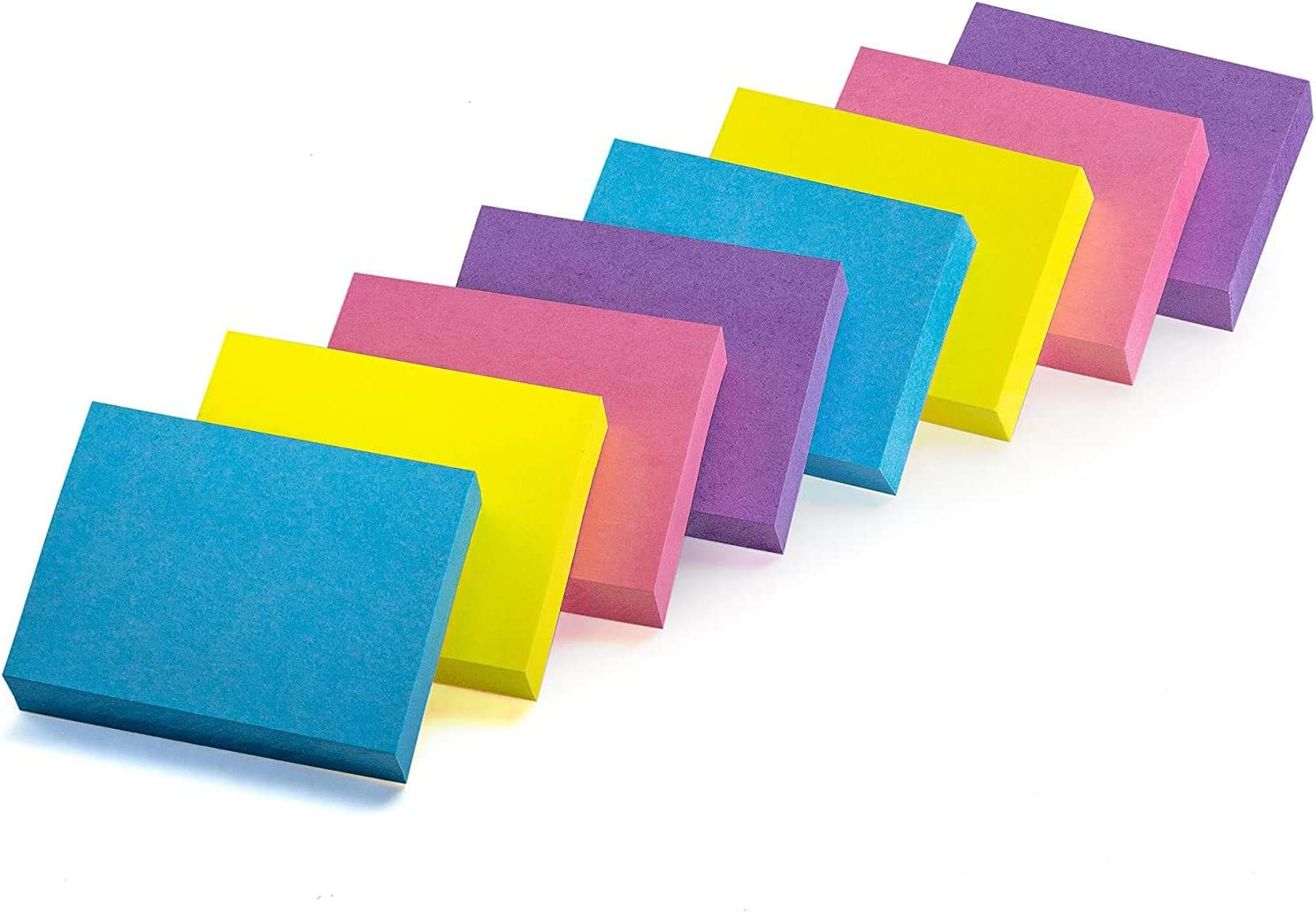 Sticky Notes, Mini Self-Stick Memo Notes - Self Adhesive - 1 ½ X 2 Inches - 100 Sheets Per Pad, 24 Pads Per Pack - Premium Quality - for Home, Office, School (Extreme)